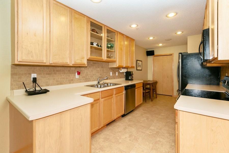 Real Estate Photography - 14985 Mustang Path, Savage, MN, 55378 - Kitchen