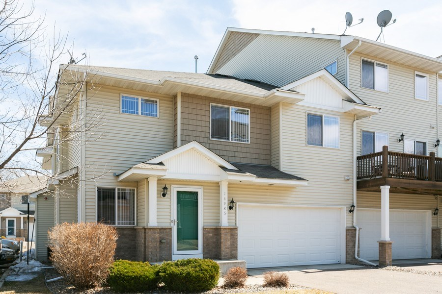 Real Estate Photography - 14985 Mustang Path, Savage, MN, 55378 - Front View