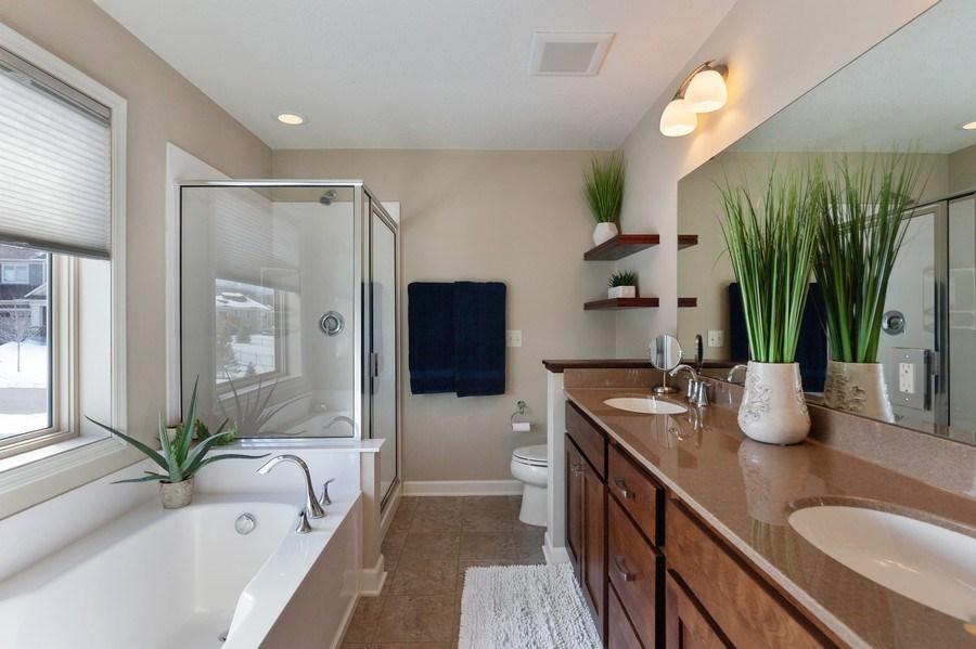 Real Estate Photography - 1371 Pleasant Lake Dr, Woodbury, MN, 55129 - Master Bathroom
