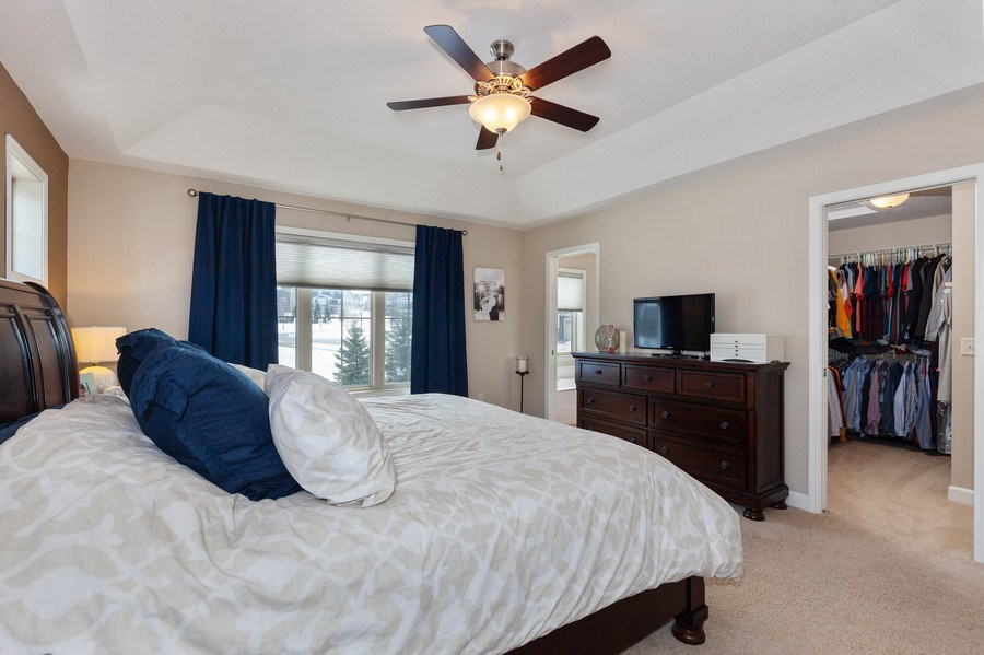 Real Estate Photography - 1371 Pleasant Lake Dr, Woodbury, MN, 55129 - Master Bedroom