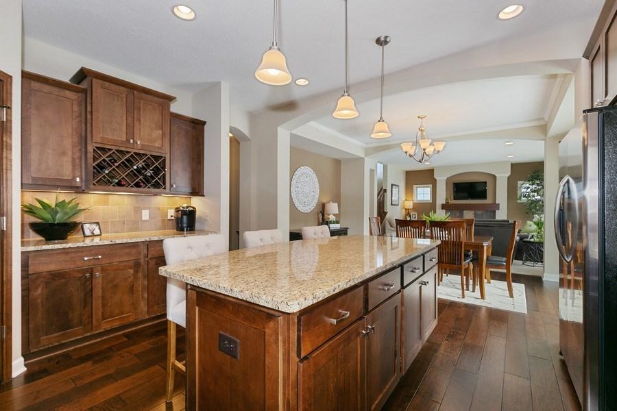 Real Estate Photography - 1371 Pleasant Lake Dr, Woodbury, MN, 55129 - Kitchen