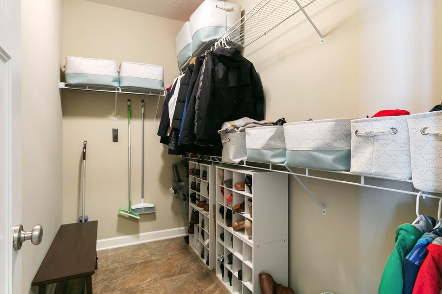 Real Estate Photography - 1371 Pleasant Lake Dr, Woodbury, MN, 55129 - Mudroom