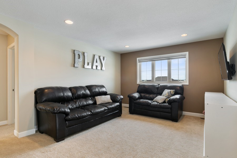 Real Estate Photography - 1371 Pleasant Lake Dr, Woodbury, MN, 55129 - Sitting Room