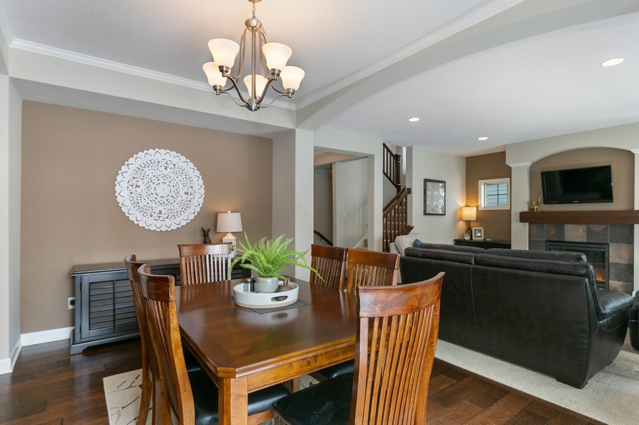 Real Estate Photography - 1371 Pleasant Lake Dr, Woodbury, MN, 55129 - Dining Area 2