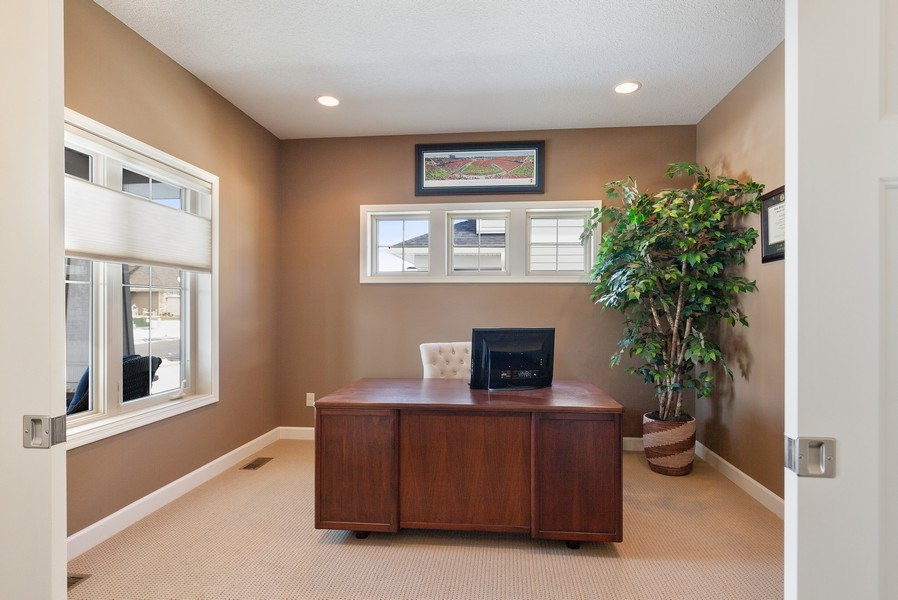 Real Estate Photography - 1371 Pleasant Lake Dr, Woodbury, MN, 55129 - Office