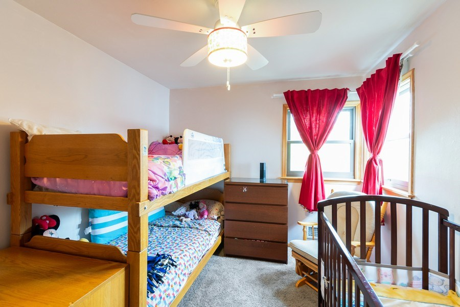 Real Estate Photography - 1056 Cobb Rd, Shoreview, MN, 55126 - 2nd Bedroom