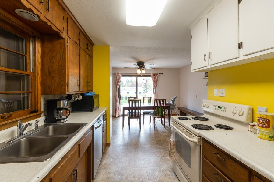 Real Estate Photography - 1056 Cobb Rd, Shoreview, MN, 55126 - Kitchen