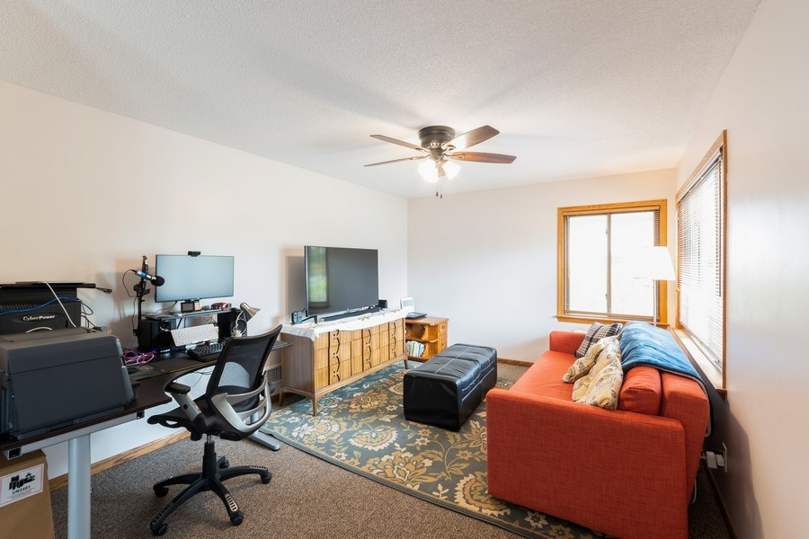 Real Estate Photography - 1056 Cobb Rd, Shoreview, MN, 55126 - Family Room