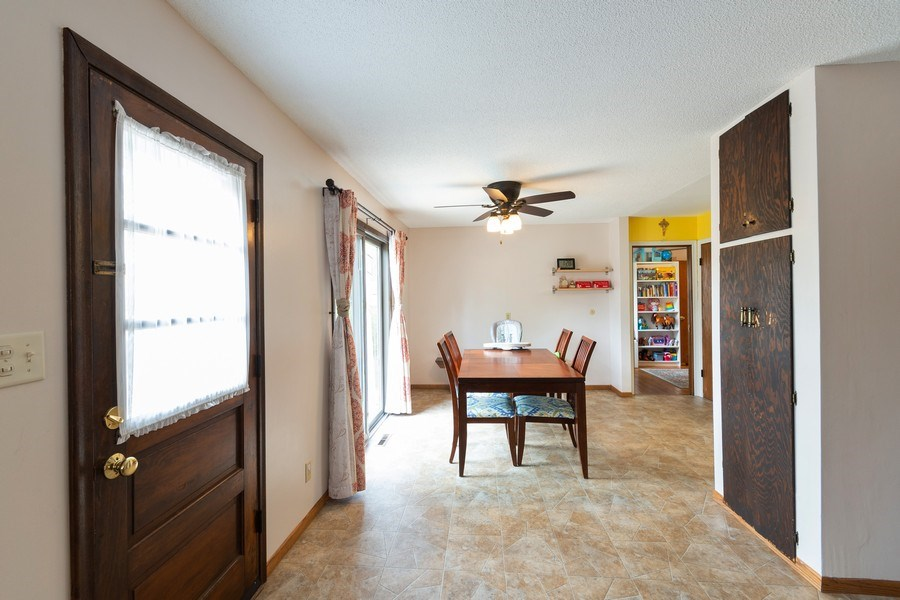 Real Estate Photography - 1056 Cobb Rd, Shoreview, MN, 55126 - Dining Room