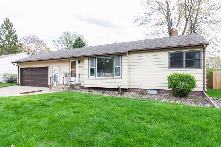Real Estate Photography - 1056 Cobb Rd, Shoreview, MN, 55126 - Front View