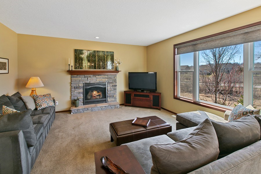 Real Estate Photography - 15385 55th Ct N, Plymouth, MN, 55446 - Main Floor Living Room/Great Room