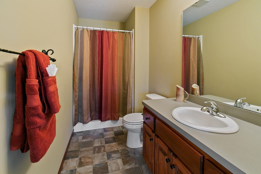 Real Estate Photography - 15385 55th Ct N, Plymouth, MN, 55446 - Lower Level 3/4 Bath