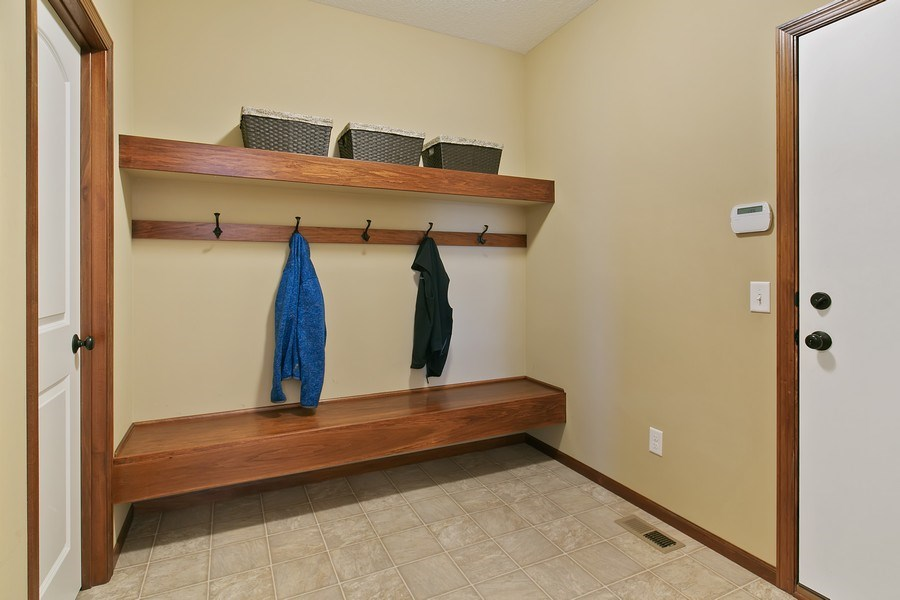 Real Estate Photography - 15385 55th Ct N, Plymouth, MN, 55446 - Spacious Back Hall entrance w/separate closet