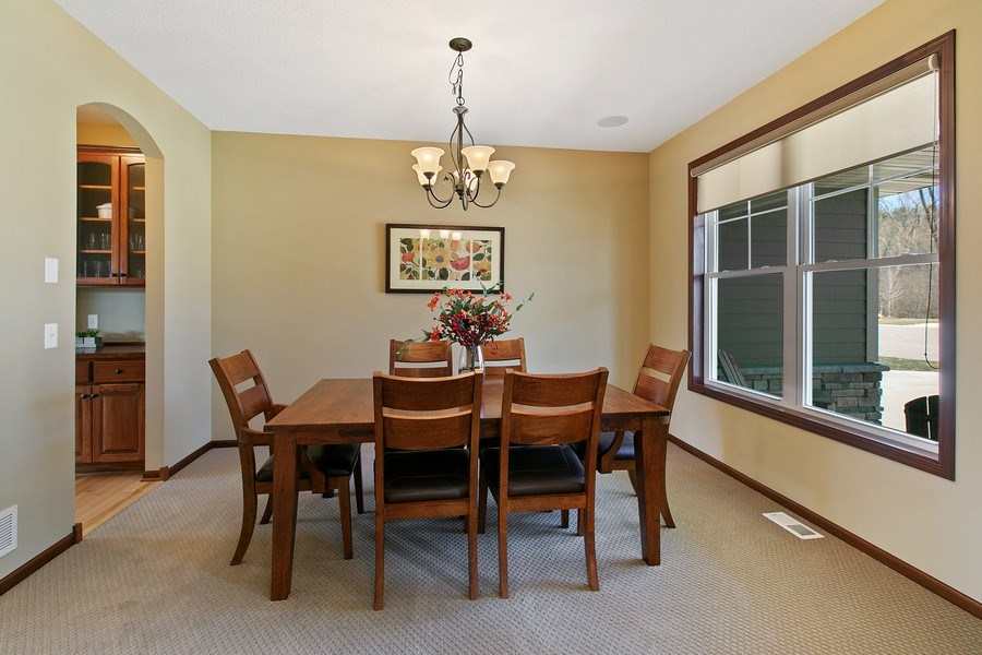 Real Estate Photography - 15385 55th Ct N, Plymouth, MN, 55446 - Formal Dining room....