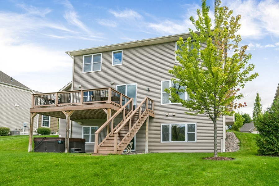 Real Estate Photography - 15385 55th Ct N, Plymouth, MN, 55446 - ...back of house