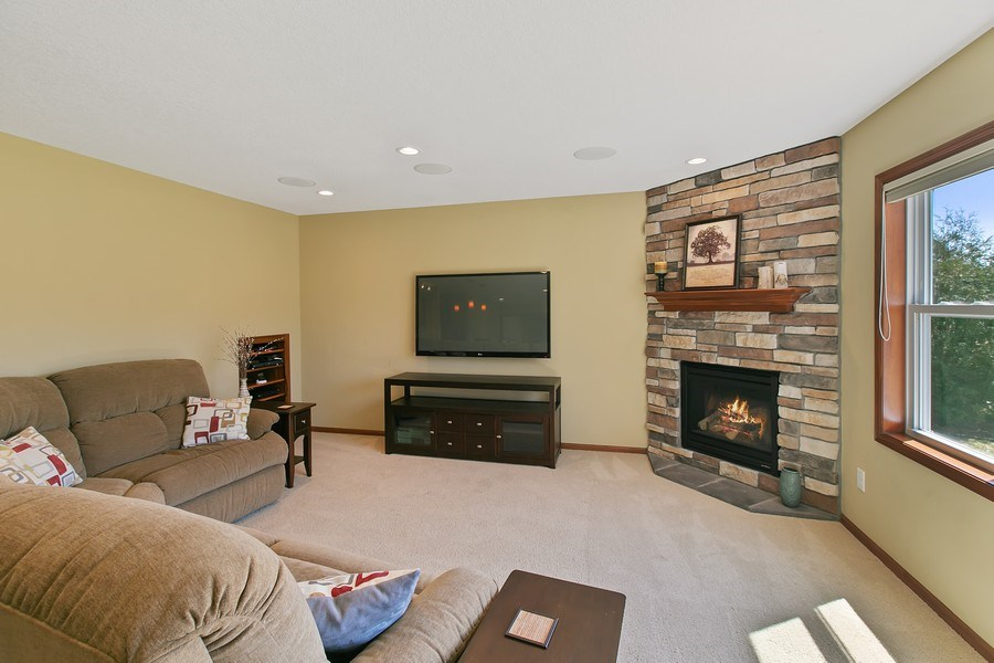 Real Estate Photography - 15385 55th Ct N, Plymouth, MN, 55446 - ...another view of lower Amusement Rm