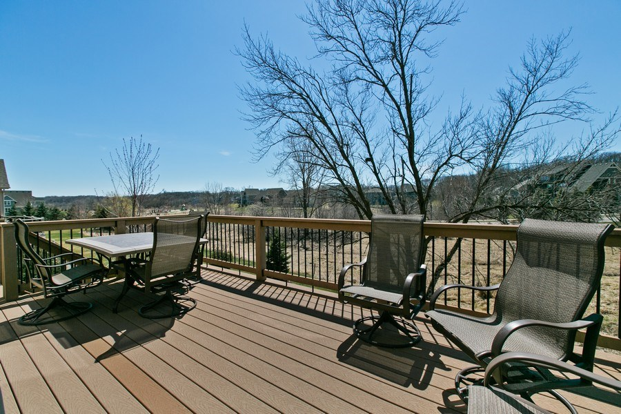 Real Estate Photography - 15385 55th Ct N, Plymouth, MN, 55446 - Maintenance free Deck off Informal Dining