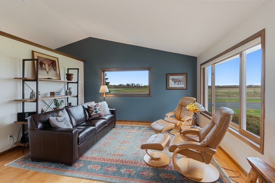 Real Estate Photography - 9480 NE Bataan St, Blaine, MN, 55449 - Living Room