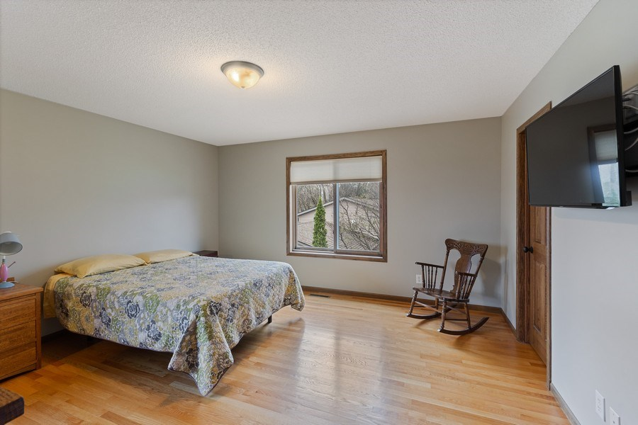 Real Estate Photography - 9480 NE Bataan St, Blaine, MN, 55449 - Master Bedroom