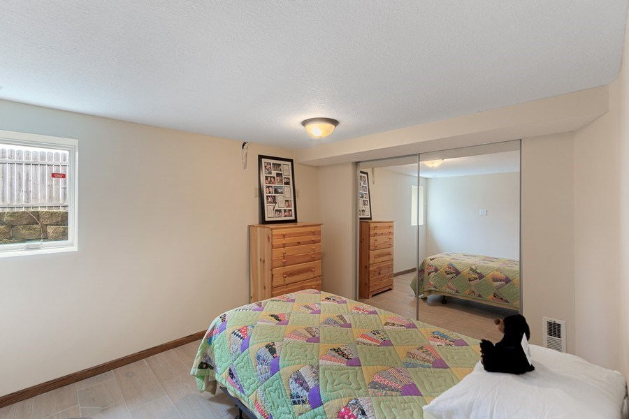 Real Estate Photography - 9480 NE Bataan St, Blaine, MN, 55449 - 2nd Bedroom