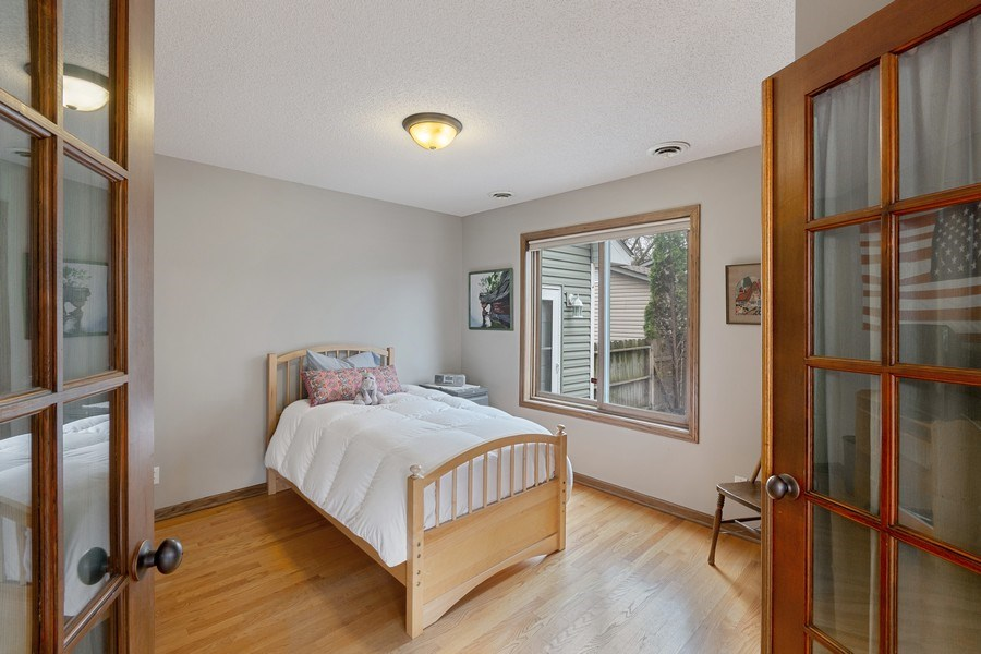 Real Estate Photography - 9480 NE Bataan St, Blaine, MN, 55449 - Bedroom