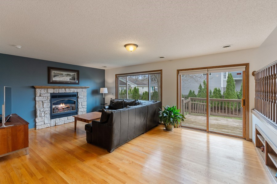 Real Estate Photography - 9480 NE Bataan St, Blaine, MN, 55449 - Family Room