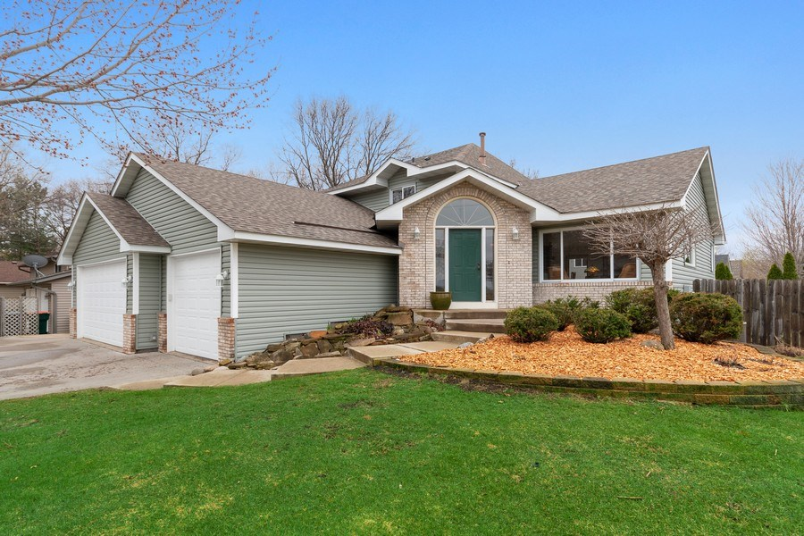 Real Estate Photography - 9480 NE Bataan St, Blaine, MN, 55449 - Front View