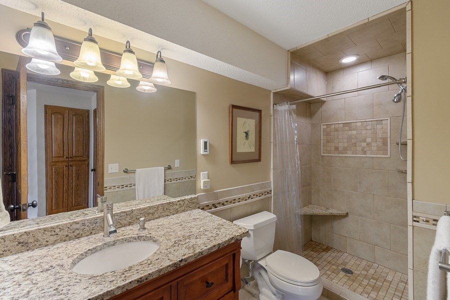 Real Estate Photography - 9480 NE Bataan St, Blaine, MN, 55449 - Bathroom