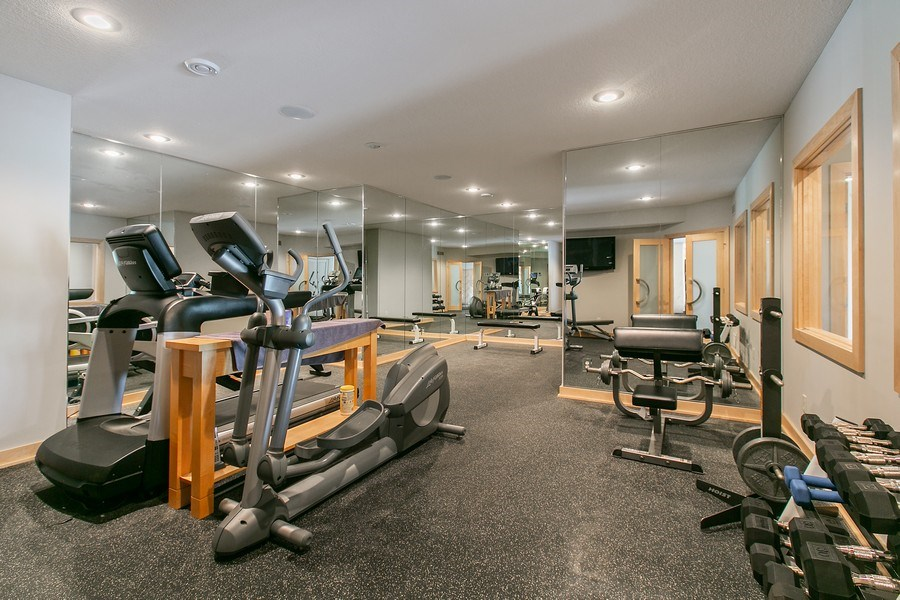 Real Estate Photography - 19555 Oak Grove Ave, Prior Lake, MN, 55372 - Exercise Room