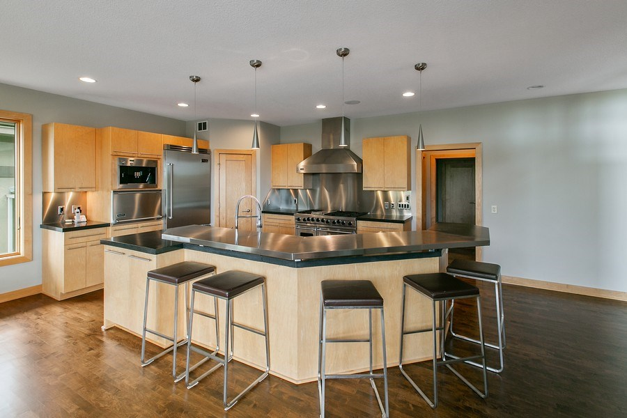 Real Estate Photography - 19555 Oak Grove Ave, Prior Lake, MN, 55372 - Kitchen