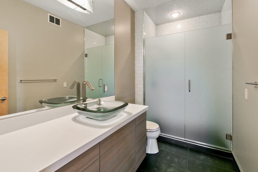 Real Estate Photography - 19555 Oak Grove Ave, Prior Lake, MN, 55372 - 2nd Bathroom