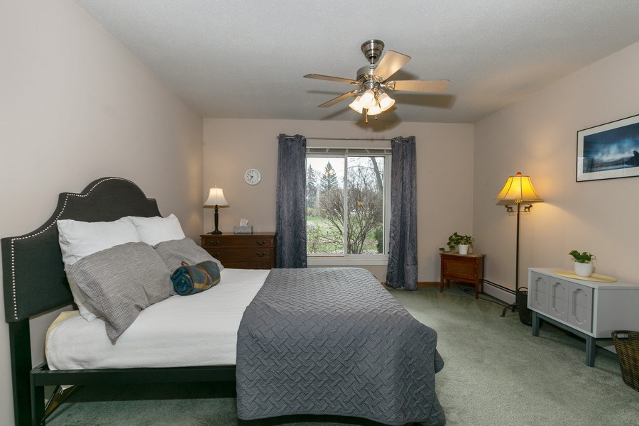 Real Estate Photography - 4045 Hodgson Rd, Unit 109, Shoreview, MN, 55126 - Master Bedroom