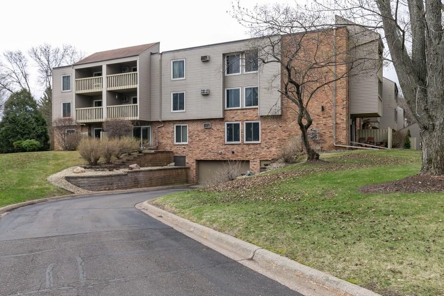 Real Estate Photography - 4045 Hodgson Rd, Unit 109, Shoreview, MN, 55126 - Parking Area