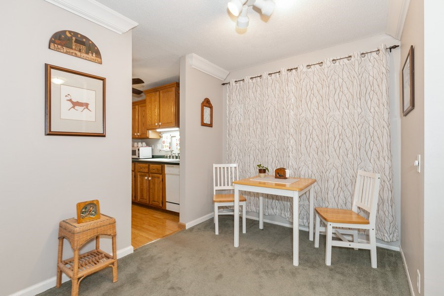 Real Estate Photography - 4045 Hodgson Rd, Unit 109, Shoreview, MN, 55126 - Dining Area 2