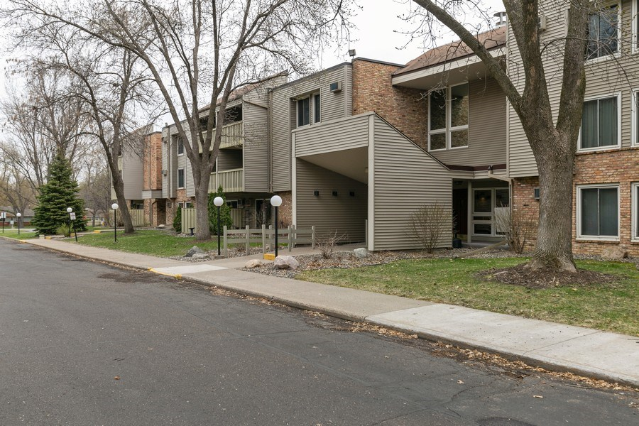 Real Estate Photography - 4045 Hodgson Rd, Unit 109, Shoreview, MN, 55126 - Front View