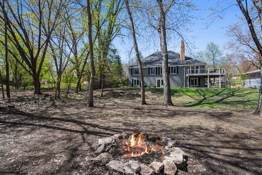 Real Estate Photography - 4757 Coventry Rd., E., Minnetonka, MN, 55345 - Back Yard