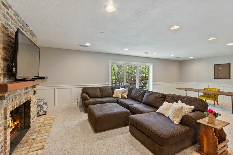 Real Estate Photography - 4757 Coventry Rd., E., Minnetonka, MN, 55345 - Family Room