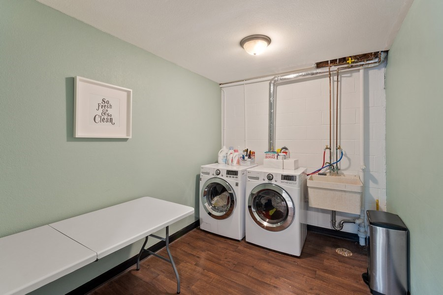 Real Estate Photography - 4757 Coventry Rd., E., Minnetonka, MN, 55345 - Laundry Room