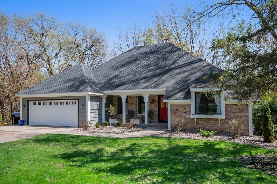 Real Estate Photography - 4757 Coventry Rd., E., Minnetonka, MN, 55345 - Front View