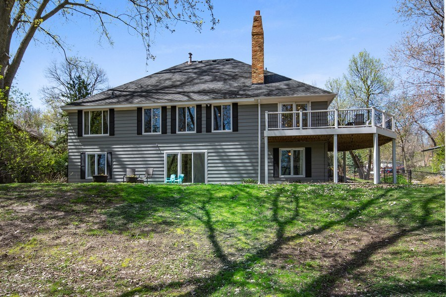 Real Estate Photography - 4757 Coventry Rd., E., Minnetonka, MN, 55345 - Rear View
