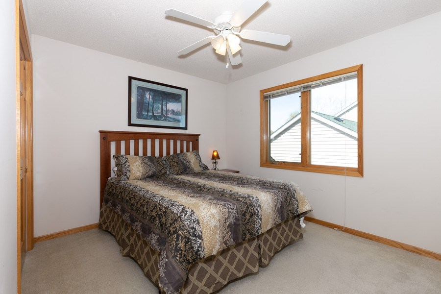 Real Estate Photography - 4100 Edinbrook Ter, Brooklyn Park, MN, 55443 - 4th Bedroom