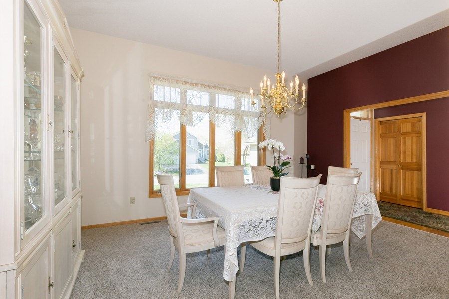 Real Estate Photography - 4100 Edinbrook Ter, Brooklyn Park, MN, 55443 - Dining Room