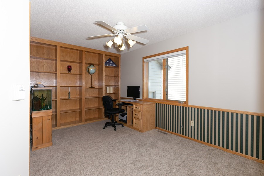 Real Estate Photography - 4100 Edinbrook Ter, Brooklyn Park, MN, 55443 - Office