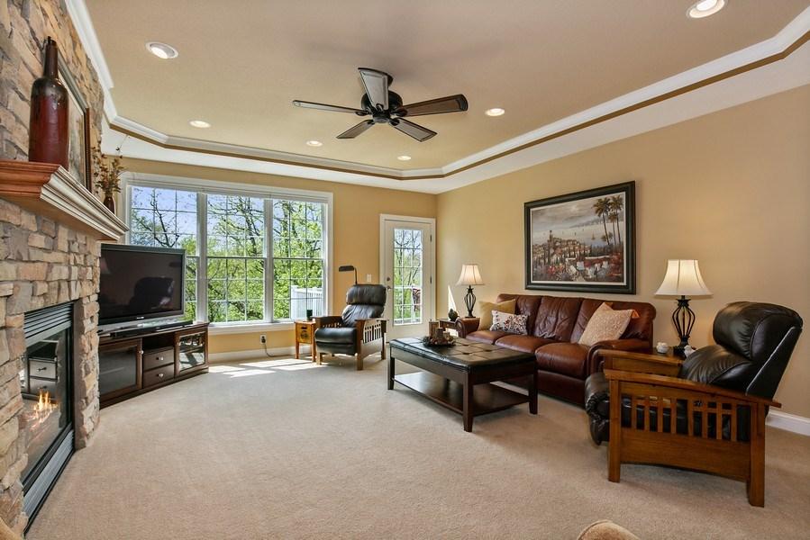 Real Estate Photography - 4850 Steeplechase Cir, Eagan, MN, 55122 - Living Room