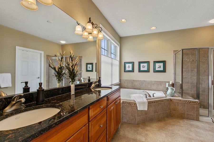 Real Estate Photography - 4850 Steeplechase Cir, Eagan, MN, 55122 - Master Bathroom