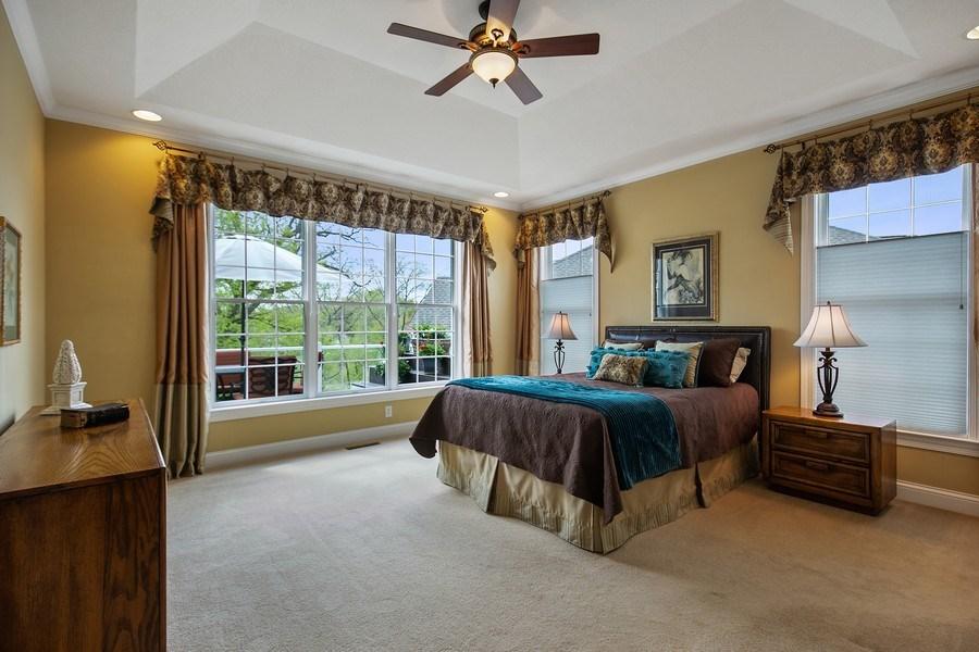 Real Estate Photography - 4850 Steeplechase Cir, Eagan, MN, 55122 - Master Bedroom