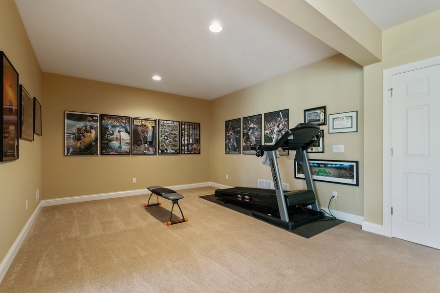 Real Estate Photography - 4850 Steeplechase Cir, Eagan, MN, 55122 - Lower Level