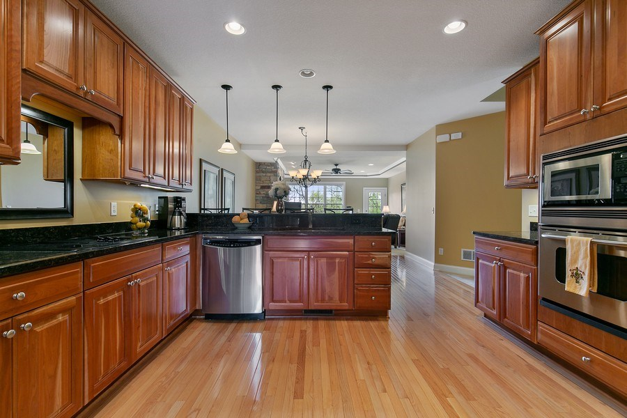 Real Estate Photography - 4850 Steeplechase Cir, Eagan, MN, 55122 - Kitchen