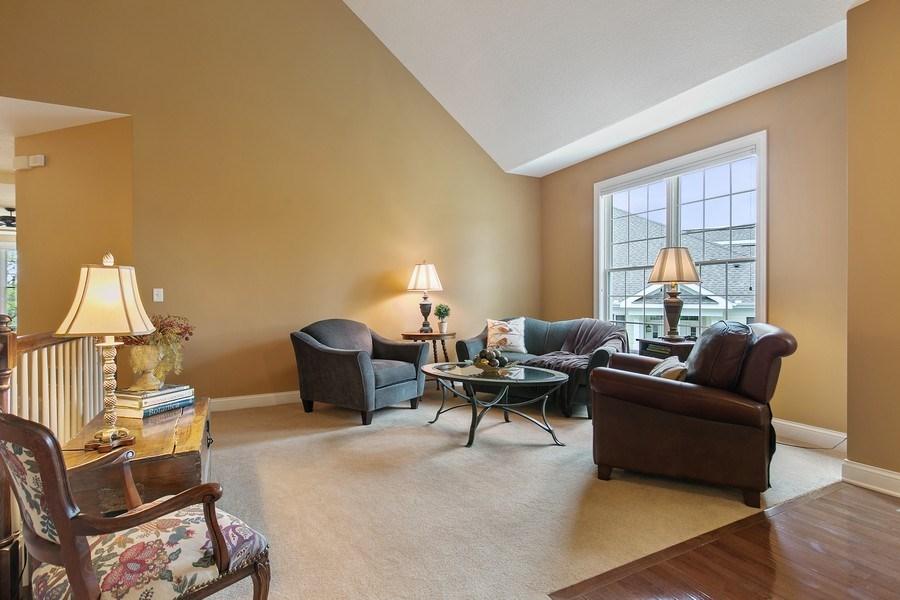 Real Estate Photography - 4850 Steeplechase Cir, Eagan, MN, 55122 - Sitting Room