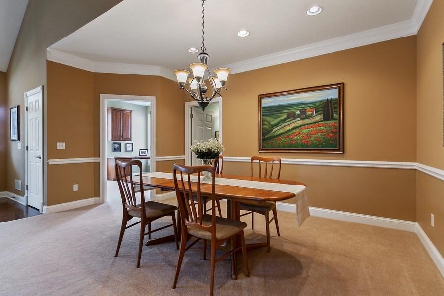 Real Estate Photography - 4850 Steeplechase Cir, Eagan, MN, 55122 - Dining Room
